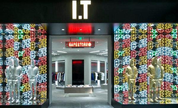 上海 Bape 专卖店、门店地址