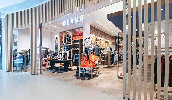 香港 Beams 专卖店、门店