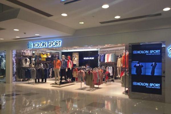 西宁 Kolon Sport 可隆专卖店、实体店