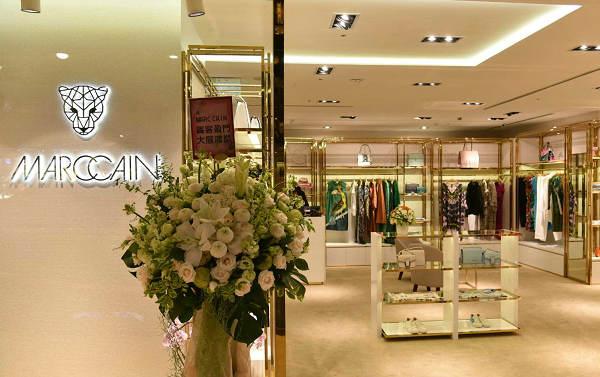 台北 Marccain 玛可凯恩旗舰店、实体店
