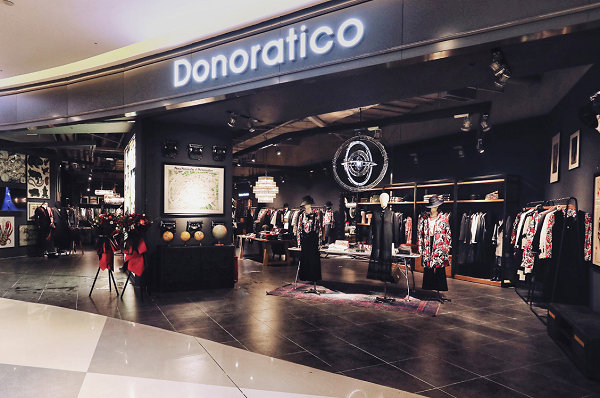 青岛 Donoratico 达衣岩专卖店、专柜