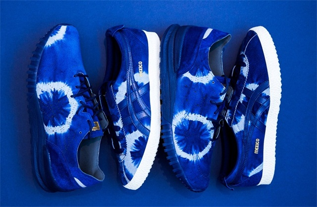 Onitsuka Tiger 推出 2017 秋季日式蓝染系列,两双鞋也很难抉择!