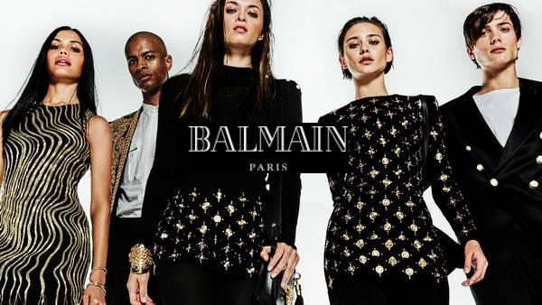 balmain巴尔曼 带有强烈时尚摇滚气息的法国时装品牌(附官网)