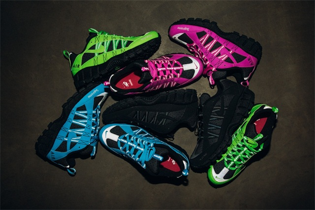 Supreme x Nike Air Humara 联名潮流鞋款系列,Nike 官网也将发售!
