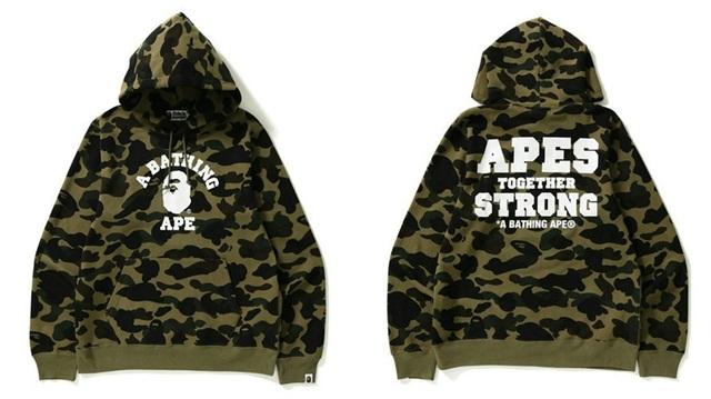 BAPE 推出全新「APES TOGETHER STRONG」别注系列潮流单品!