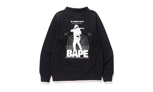 Bape 正式发售 Pocket Crewneck 别注系列潮流单品