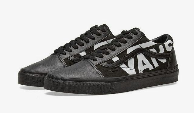 """Vans 发布 Old Skool 和 Sk8-Hi 系列两双""""大 Logo""""鞋款"""