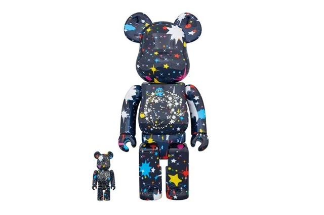 Billionaire Boys Club x Medicom Toy 联名公布 BE@RBRICK「STARFIELD」最新设计