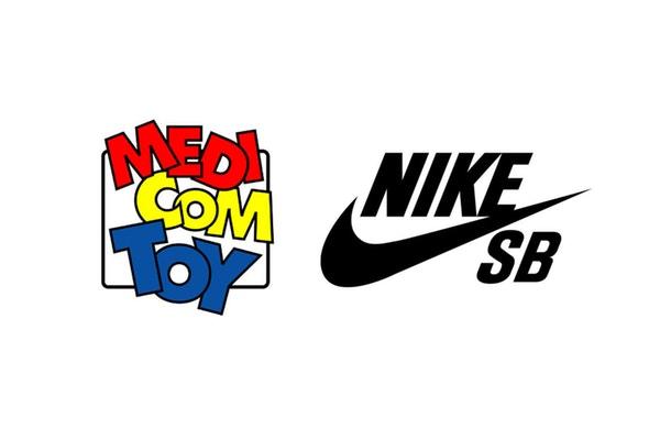 MEDICOM TOY x Nike SB 联名公布全新回归系列潮流单品