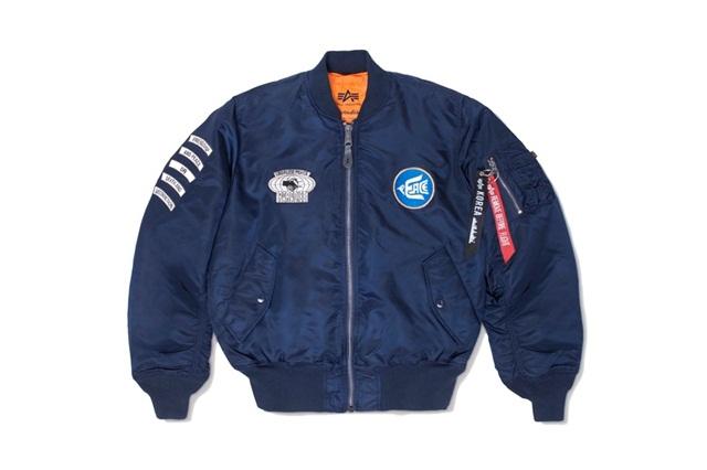 Alpha Industries x Paradise Youth Club 全新联名 MA-1 飞行夹克,冬季男士衣柜必备!