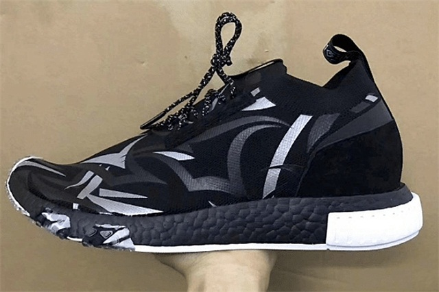 网上曝出 JUICE x adidas Consortium NMD_Racer 联名 Alienegra 黑色荆棘鞋款