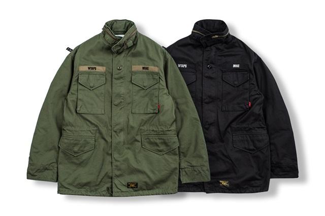 日本军事品牌 WTAPS 推出全新 M65 外套系列,每季定番单品