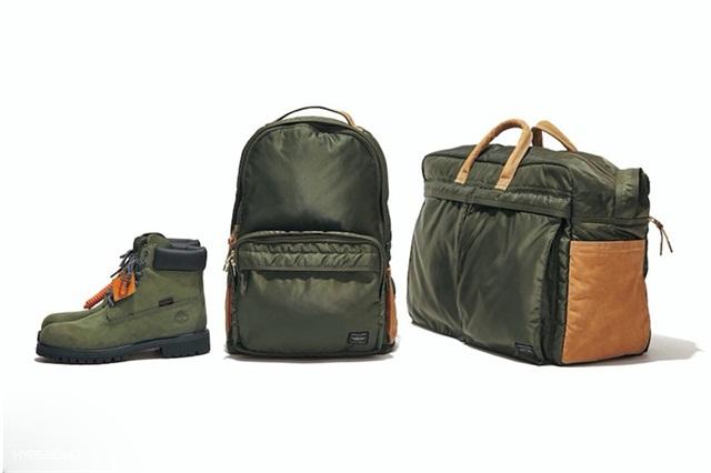 Porter吉田 x Timberland 联名发布 6-Inch 靴款及包袋系列
