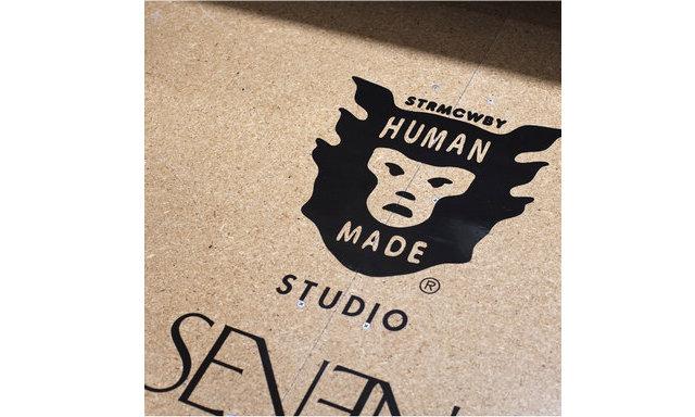 HUMAN MADE x STUDIO SEVEN 全新联名 T 恤,两款配色的短袖版本