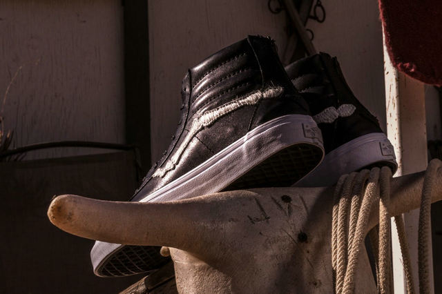 Vans Vault x 美国潮流店铺 Blends 联名打造 2018 全新 Sk8-Hi Reissue 鞋款