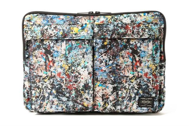 PORTER x Sync. x Jackson Pollock 三方联名包袋系列,来自美国的抽象艺术大师绘作