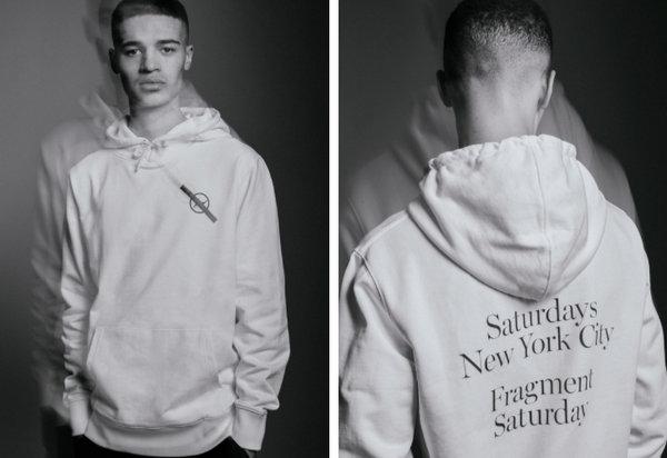 藤原浩fragmentdesign x Saturdays NYC 联乘帽衫及T恤 即将开售