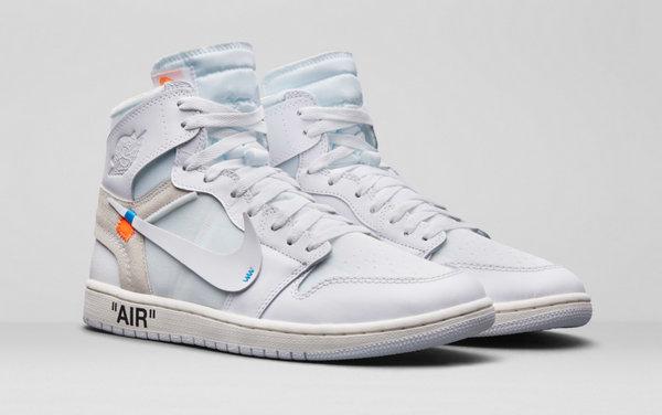off white x Air Jordan 1 联名白色鞋款正式发布,发售信息一并透露!