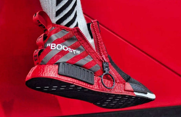 Off White x adidas 三叶草NMD CS1 全新定制版本?球鞋设计师Edmond Looi打造!