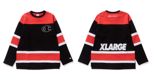 Champion x XLARGE 联名T恤及裤装系列正式公开