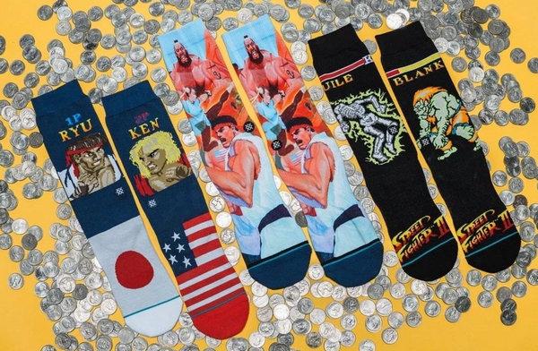 Stance x Street Fighter 2 街霸联名袜子系列上架