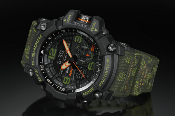 G-SHOCK x 单板潮牌Burton联名推出限量表款GG-1000BTN-1APR