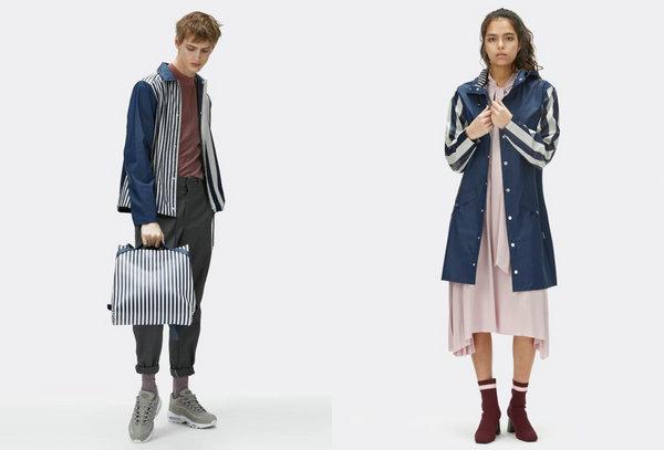 丹麦 RAINS 品牌2018春夏系列 Lookbook ,除了雨衣还有背包!