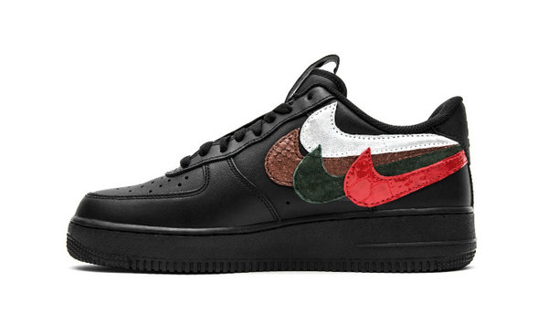 双拼勾版Air Force 1?!John Geiger 推出「Misplaced Checks」全新黑色鞋款