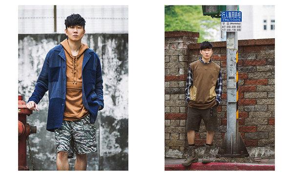 林俊杰 SMG潮牌 2018 春夏系列 Lookbook,亲自演绎复古街头风~