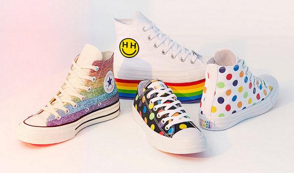 今天发售!匡威与Miley Cyrus联手打造全新「Pride」系列鞋款