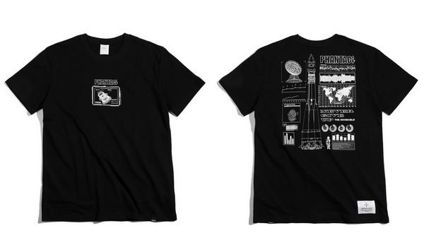 歌迷的狂欢!周杰伦演唱会独家定制P.H.M.S.系列T恤