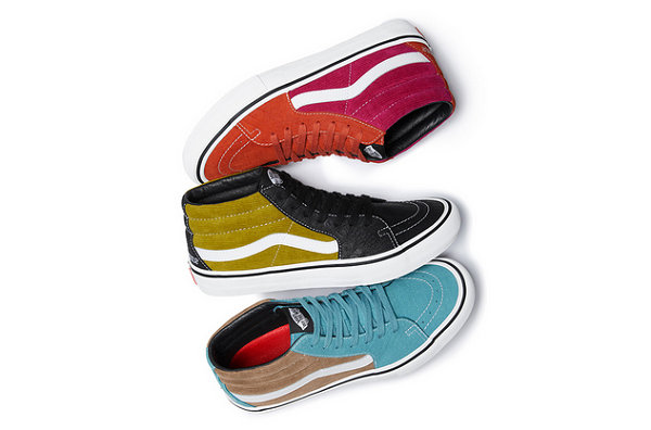 Supreme x Vans释出2018全新联名鞋款,即将发售!