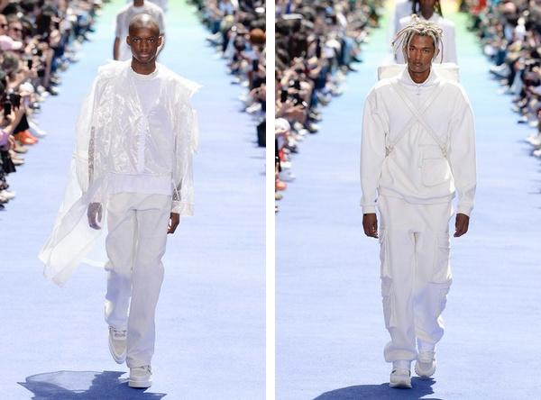 LV春夏系列登陆巴黎时装周,Virgil Abloh与侃爷相拥落泪