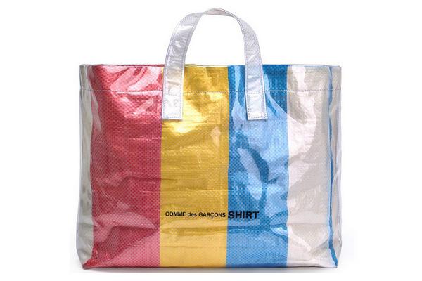 "CdG Shirt推出全新""尼龙袋""配色包款,这样的时尚你能接受吗?"