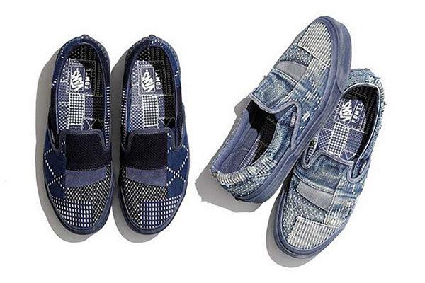 Vans x FDMTL推出欧洲限定版鞋款,丹宁鞋太有特色~