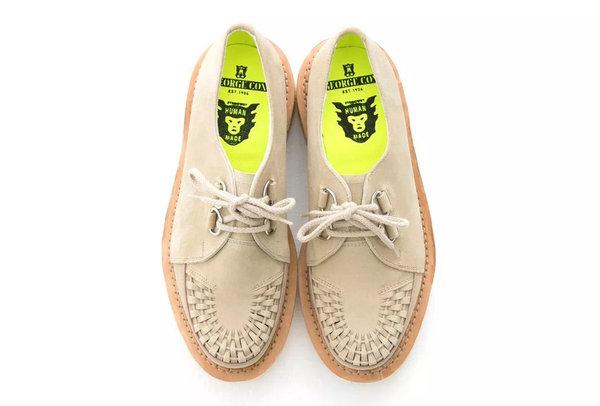 HUMAN MADE与英国老牌George Cox全新联名Creeper系列鞋款发售