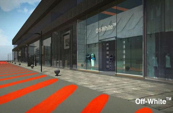 OFF-WHITE进驻北京三里屯,将打造期间限定户外装置!