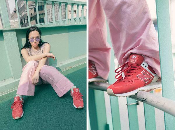 日式七夕,New Balance 特别推出和风七夕系列鞋款~