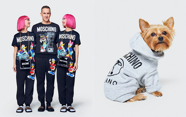 H&M x Moschino 2018 联名系列祭出,还有宠物专属设计~