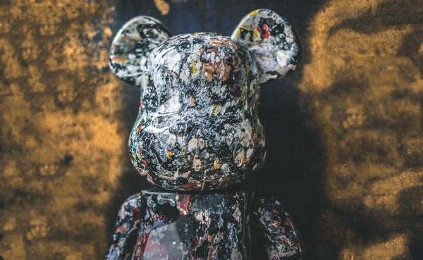 Medicom Toy x Jackson Pollock 联名 1000% BE@RBRICK 发售