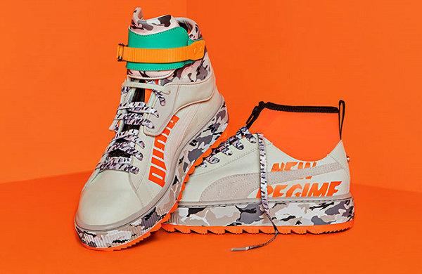 潮牌 Atelier New Regime x 彪马 2018 联名可拆卸鞋帮鞋款下月开售