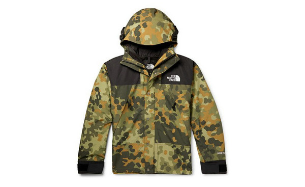 "The North Face 全新""Mountain Camouflage-Print""别注系列现已发售"
