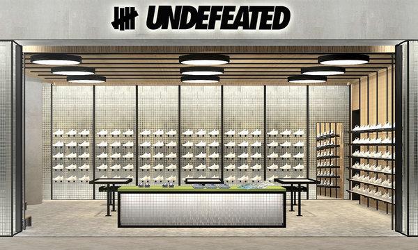 美潮 UNDEFEATED 国内首间专门店即将登陆上海