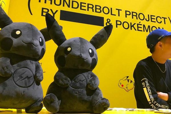 """藤原浩 x Pokémon""""THUNDERBOLT PROJECT""""东京快闪店铺情报公开"""