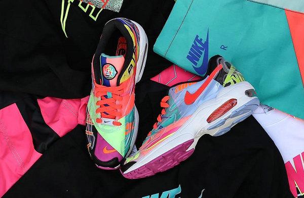 atmos x Nike 2018 联名 Air Max2 Light 鞋款细节图释出