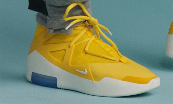 Nike x  Fear Of God 联名鞋款亮黄配色1.jpg