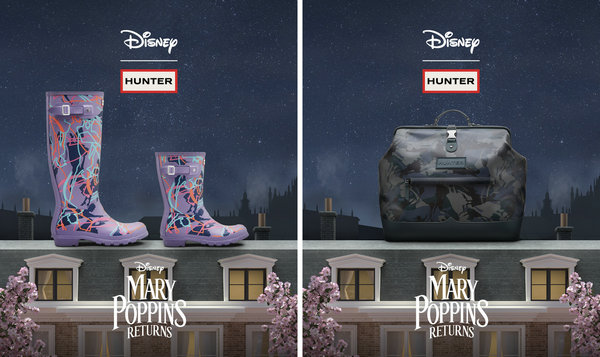 HUNTER x Disney 联乘《欢乐满人间》系列上架发售