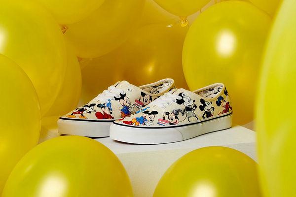 Vans x Disney「Mickey Mouse」联名别注系列即将发售