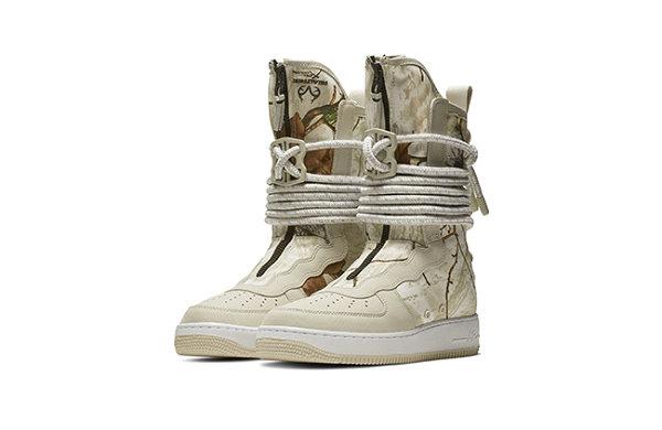 树林迷彩来袭!Nike 推出 2018 全新配色 SF-AF1 High 鞋款