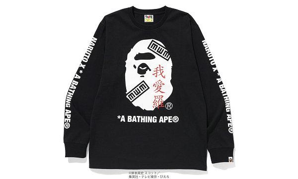 日潮 BAPE x 《火影忍者》 2018 联名系列发售在即~